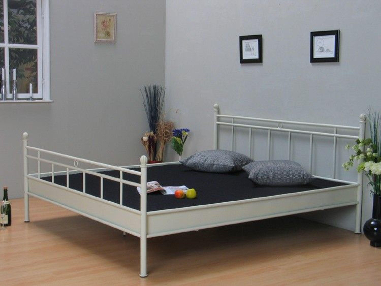 metallbett 180x200 doppelbett bett ehebett vanilla neu kaufen bei. Black Bedroom Furniture Sets. Home Design Ideas