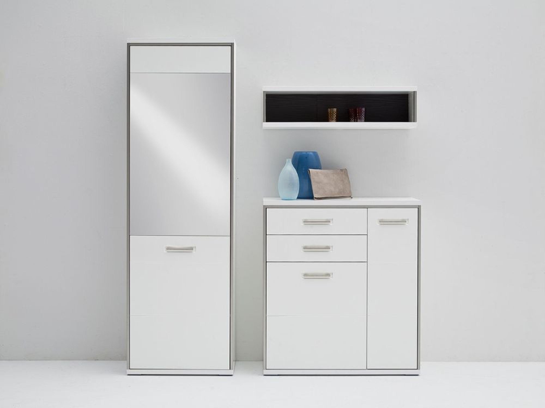 fillipe garderobenset 3 teilig in wei mit h ngeregal kaufen bei. Black Bedroom Furniture Sets. Home Design Ideas