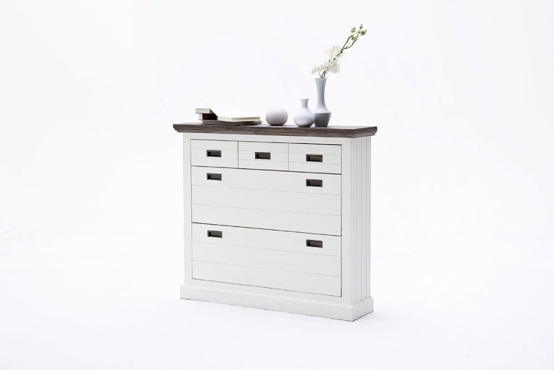 seona schuhschrank gro in akazie wei lackiert kaufen bei. Black Bedroom Furniture Sets. Home Design Ideas