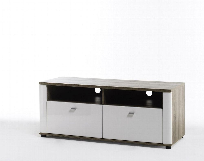 tv lowboard malee wei mit sonoma eiche nachbildung kaufen bei. Black Bedroom Furniture Sets. Home Design Ideas