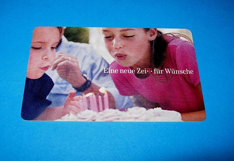 telefonkarte tk p 03 10 eine neue zeit f r w nsche kaufen bei. Black Bedroom Furniture Sets. Home Design Ideas