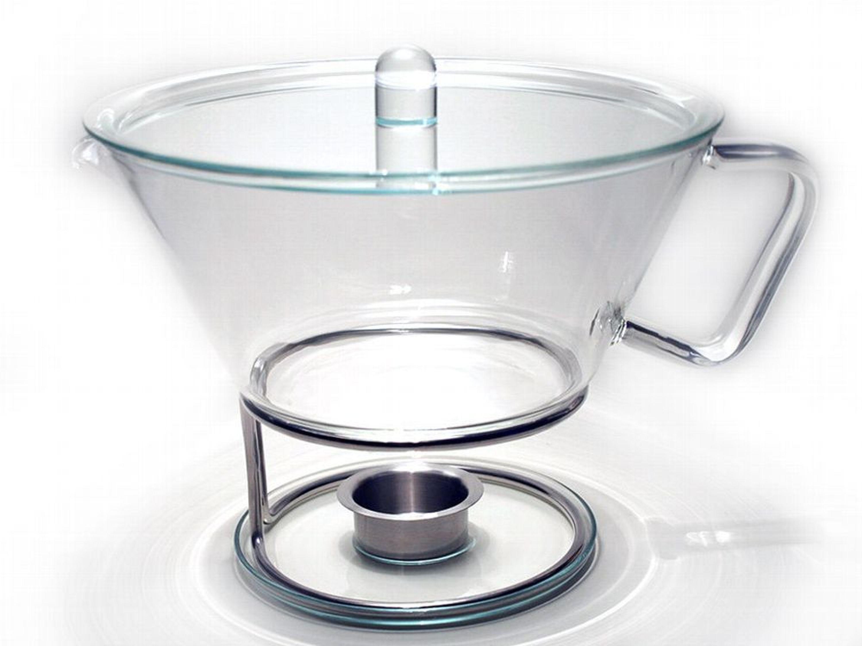 teekanne 1 3 liter aus glas mit gro en sieb inkl st vchen kaufen bei. Black Bedroom Furniture Sets. Home Design Ideas