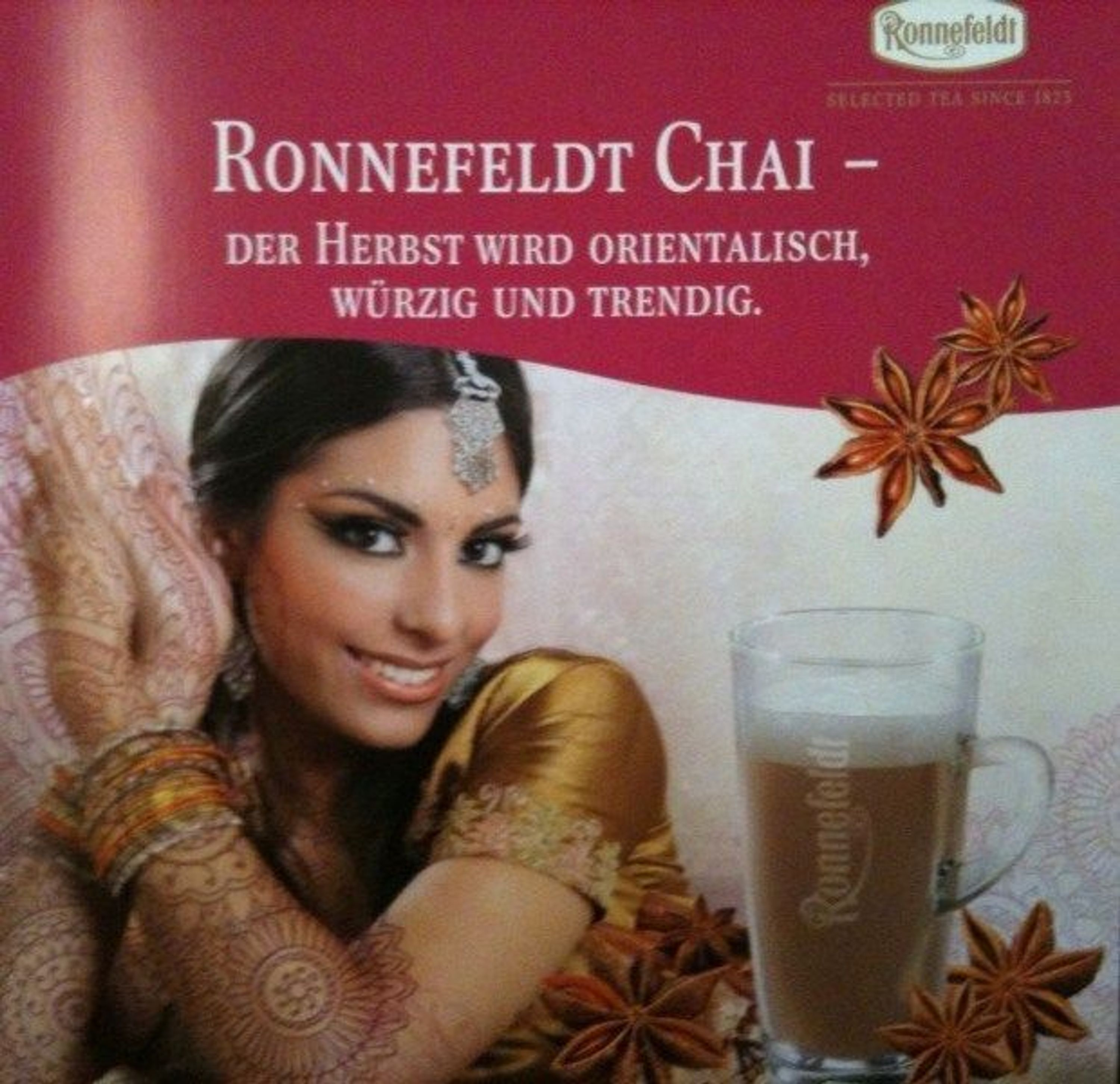 ronnefeldt schoko chai gew rztee chai latte 100g loser tee kaufen bei. Black Bedroom Furniture Sets. Home Design Ideas