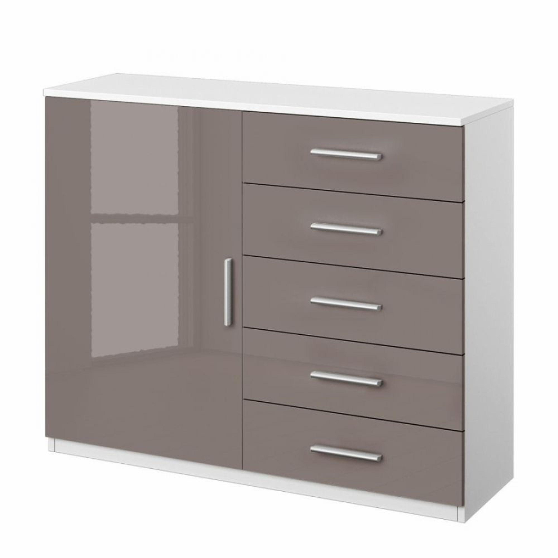 kombikommode celle 1 t rig lavagrau alpinwei kaufen bei. Black Bedroom Furniture Sets. Home Design Ideas