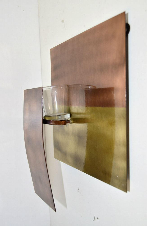 impressionen teelichthalter wand teelicht metall glas kaufen bei. Black Bedroom Furniture Sets. Home Design Ideas
