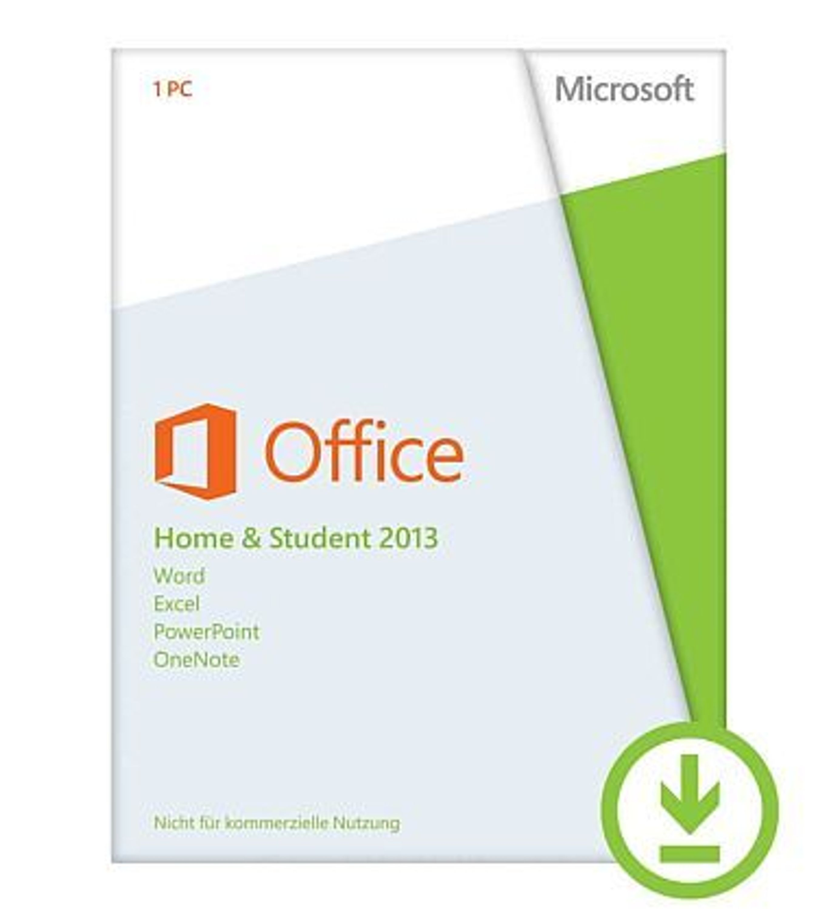 microsoft office 2013 home student key f r 1 pc. Black Bedroom Furniture Sets. Home Design Ideas