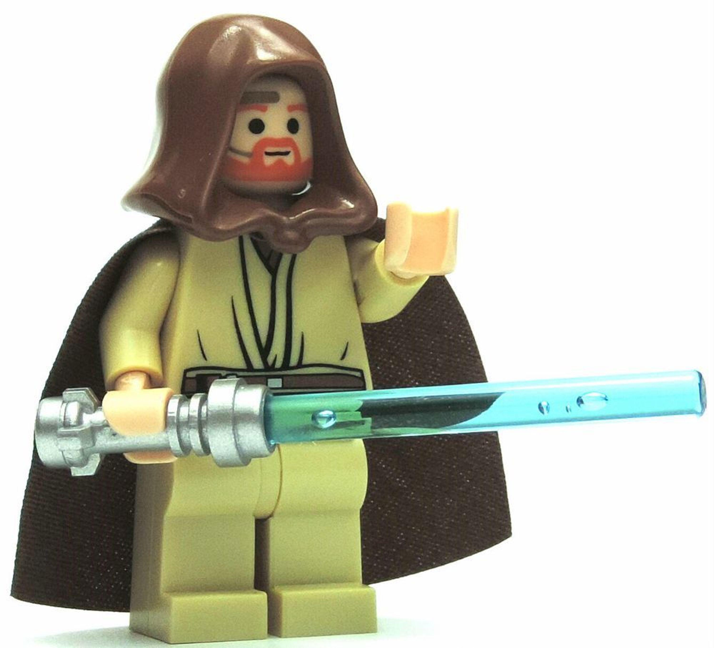 lego star wars figur obi wan kenobi mit blauen laserschwert kaufen bei. Black Bedroom Furniture Sets. Home Design Ideas