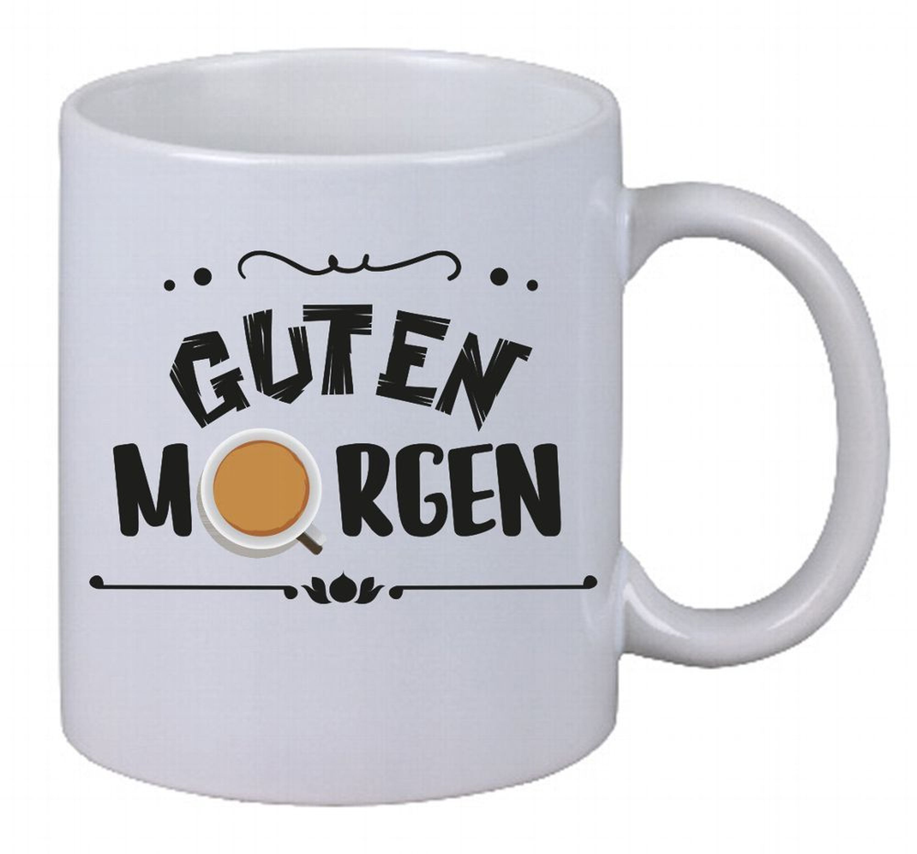 kaffee tasse guten morgen kaffe cappuccino latte macchiato essen fun gag decal kaufen bei. Black Bedroom Furniture Sets. Home Design Ideas