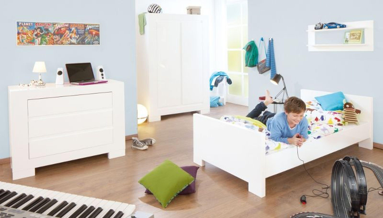 pinolino jugend kinderzimmer hochglanz mdf weiss lackiert sky kaufen bei. Black Bedroom Furniture Sets. Home Design Ideas