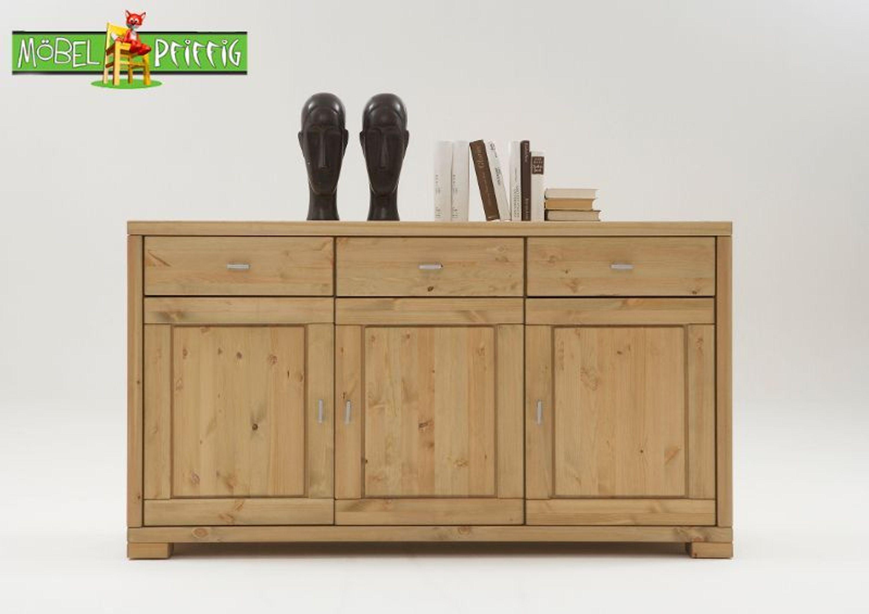 kommode anrichte guldborg 3 t rig mit 3 holzt ren kaufen bei. Black Bedroom Furniture Sets. Home Design Ideas