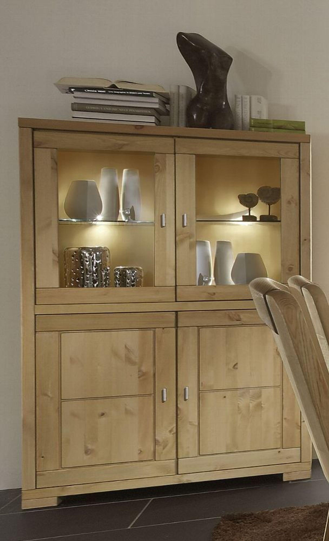 highboard vitrine guldborg mit 2 glast ren kaufen bei. Black Bedroom Furniture Sets. Home Design Ideas