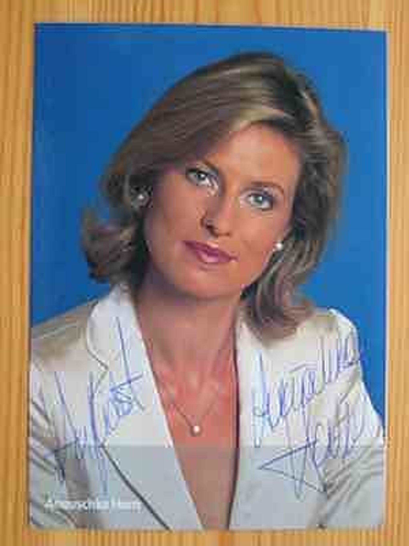 BR Fernsehmoderatorin <b>Anouschka Horn</b> - handsigniertes Autogramm! - 7924746