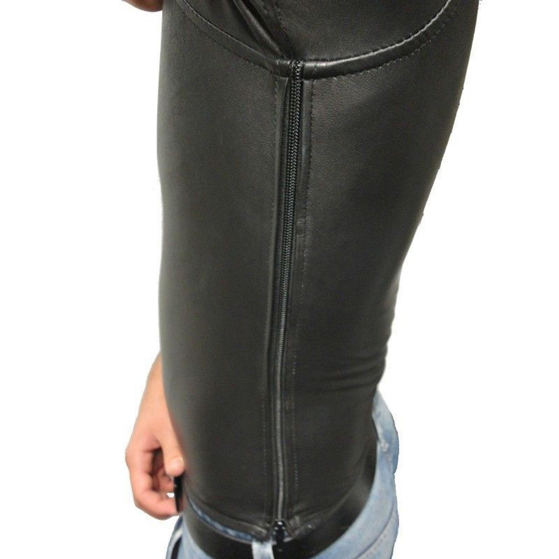 NEU LEDER SHIRT von RICANO, Herren T-Shirt Hemd Top, Lamm Nappa Leder,  schwarz kaufen bei Hood.de - Farbrichtung Schwarz Material Echt Leder ff120a14b8