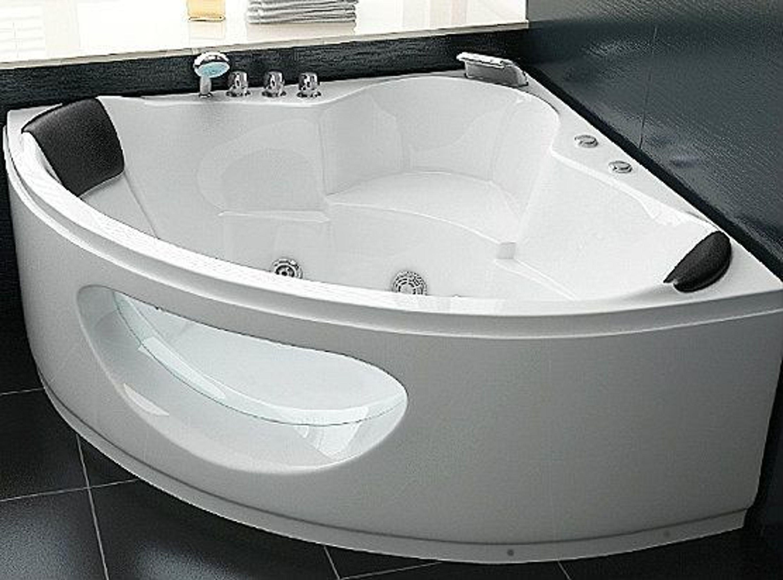 whirlpool badewanne toskana mit 10 massage d sen led eckwanne luxus spa g nstig kaufen bei. Black Bedroom Furniture Sets. Home Design Ideas