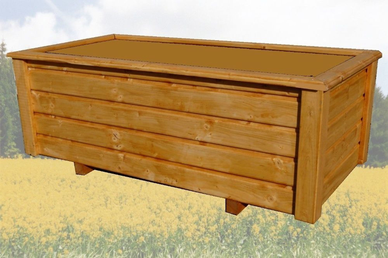 classiv pflanzkasten 140x40x40 cm blumenkasten pflanzk bel holz lasiert kaufen bei. Black Bedroom Furniture Sets. Home Design Ideas