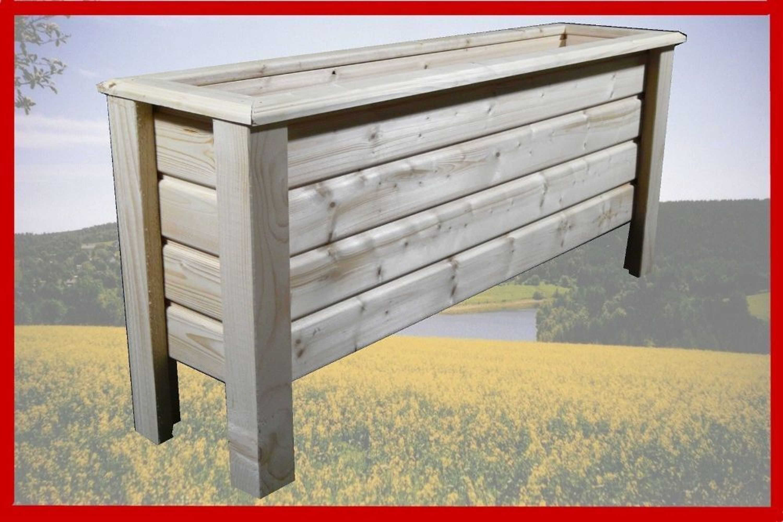 classic pflanzkasten aus holz blumenkasten pflanzk bel pflanztrog 100x40x50 cm kaufen bei. Black Bedroom Furniture Sets. Home Design Ideas