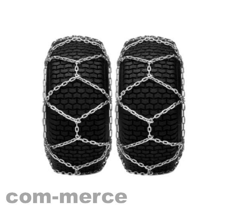 schneeketten 1 paar f r rasentraktor viele gr en kreuzspur stahl verzinkt kaufen bei. Black Bedroom Furniture Sets. Home Design Ideas