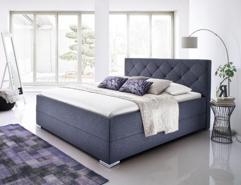 boxspringbett polsterbett nightdreams anthrazit 180 x 200 cm stoffbett kaufen bei. Black Bedroom Furniture Sets. Home Design Ideas