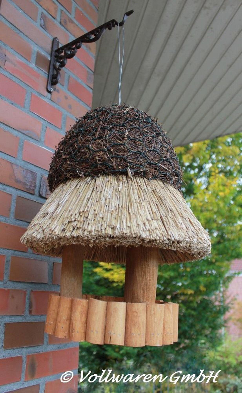 set reetdach vogelvilla breslau wandhaken guss vogelhaus zum aufh ngen kiefer kaufen bei. Black Bedroom Furniture Sets. Home Design Ideas