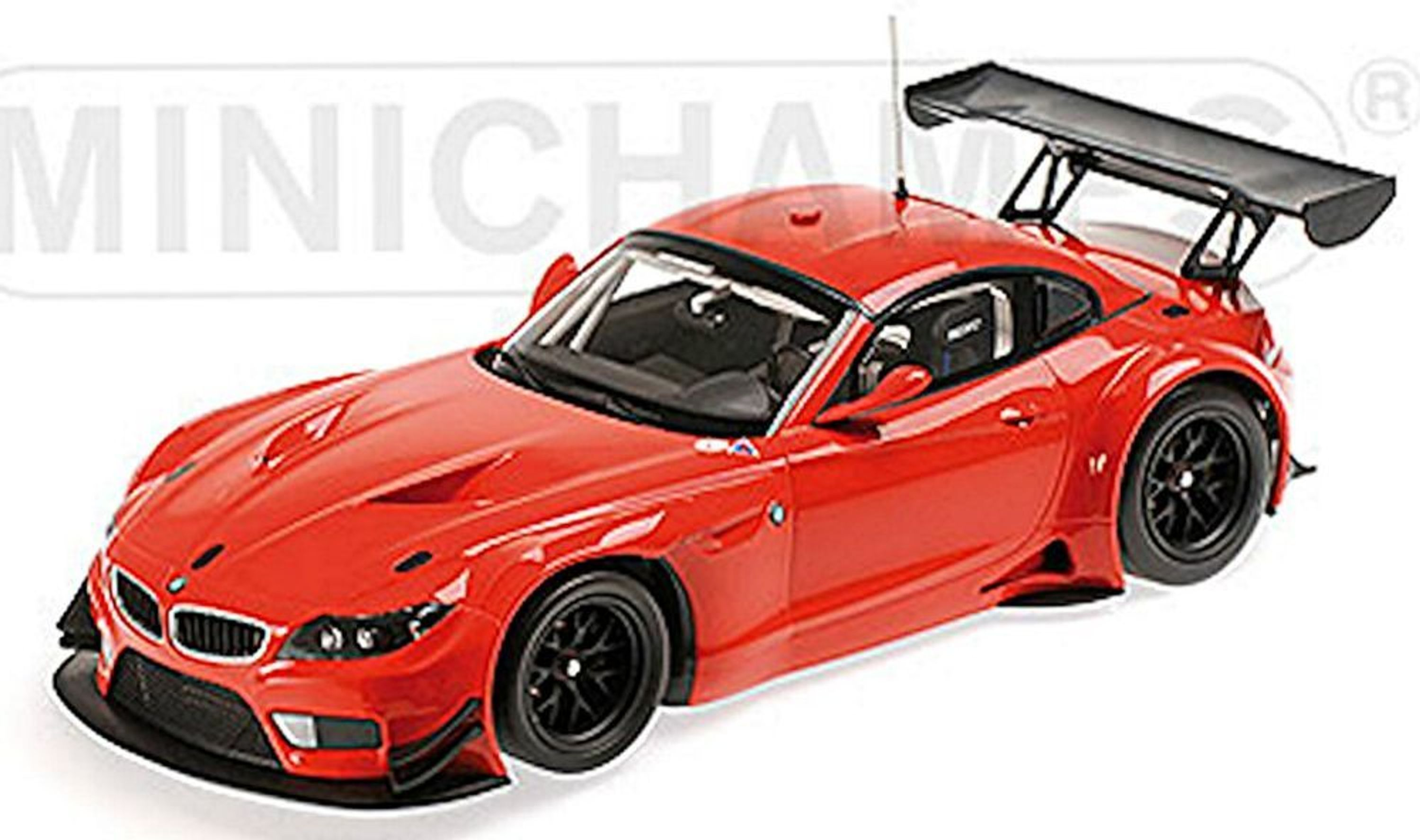 bmw z4 gt3 coupe e89 streetversion 2012 rot red 1 18 minichamps ebay. Black Bedroom Furniture Sets. Home Design Ideas