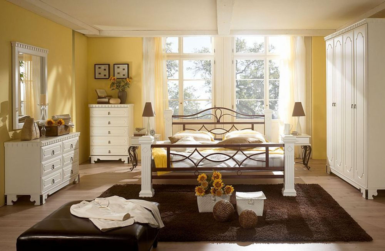 schlafzimmer komplett holz bett 180x200 kleiderschrank. Black Bedroom Furniture Sets. Home Design Ideas