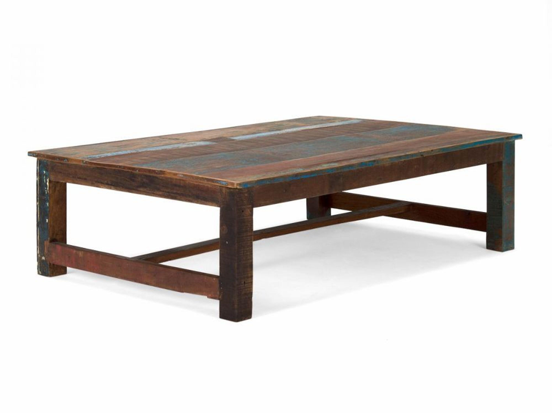 couchtisch 140x95 holz bunt vintage antik look sofatisch wohnm bel neu avadi kaufen bei. Black Bedroom Furniture Sets. Home Design Ideas