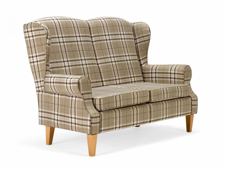 sitzbank sofa k chenbank k chensofa hellbraun kariert polsterm bel neu avalon kaufen bei. Black Bedroom Furniture Sets. Home Design Ideas