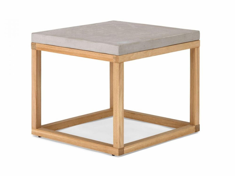 beistelltisch eiche massiv natur beton grau blumen hocker design neu darley kaufen bei. Black Bedroom Furniture Sets. Home Design Ideas