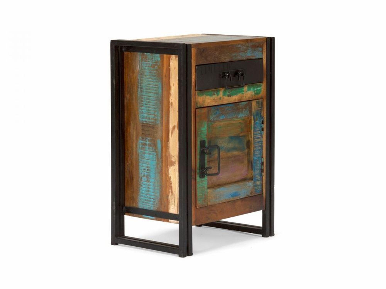 badm bel unterschrank badschrank holz m bel industrie metall design neu quebec kaufen bei. Black Bedroom Furniture Sets. Home Design Ideas