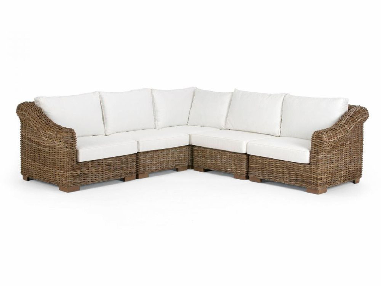 eckofa l sofa eckcouch rattan kubu mit kissen wohnm bel rattansofa neu talara kaufen bei. Black Bedroom Furniture Sets. Home Design Ideas