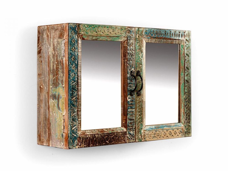 badm bel spiegelschrank wandspiegel massiv holz m bel mango blue lagoon kaufen bei. Black Bedroom Furniture Sets. Home Design Ideas