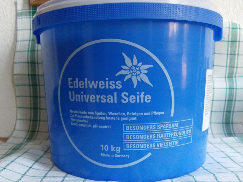 edelweiss universalseife neutralseife schmierseife 10kg eimer neuware kaufen bei. Black Bedroom Furniture Sets. Home Design Ideas