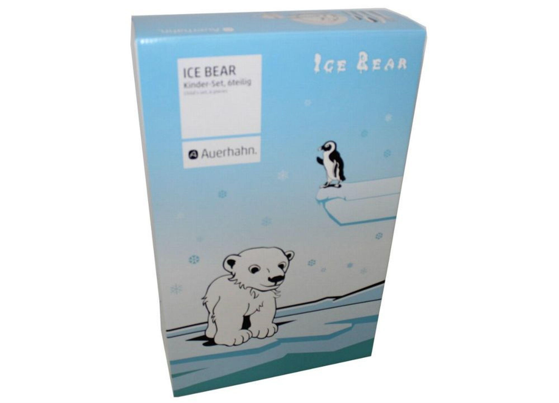auerhahn 6tlg kinderbesteck set ice bear kindergeschirr messer gabel eisb r neu kaufen bei. Black Bedroom Furniture Sets. Home Design Ideas