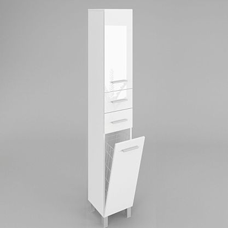 badezimmerschrank badschrank hochschrank mit w schekorb. Black Bedroom Furniture Sets. Home Design Ideas