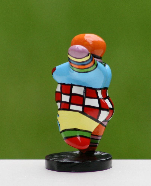 Hommage An Niki De Saint Phalle Figur Skulptur Dicke Frau Molly