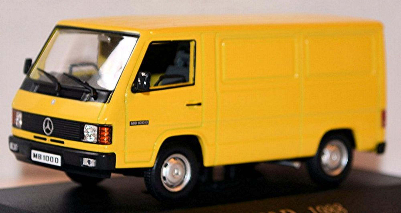 mercedes benz mb 100 d kastenwagen 1988 92 gelb yellow 1. Black Bedroom Furniture Sets. Home Design Ideas
