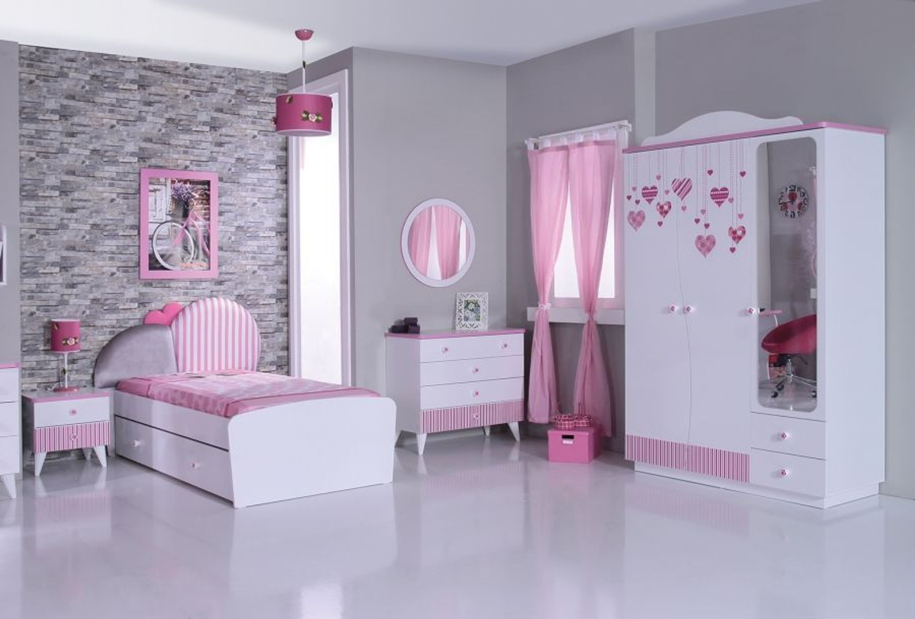 kinderzimmerset elissa m dchenzimmer 4 tlg kaufen bei. Black Bedroom Furniture Sets. Home Design Ideas