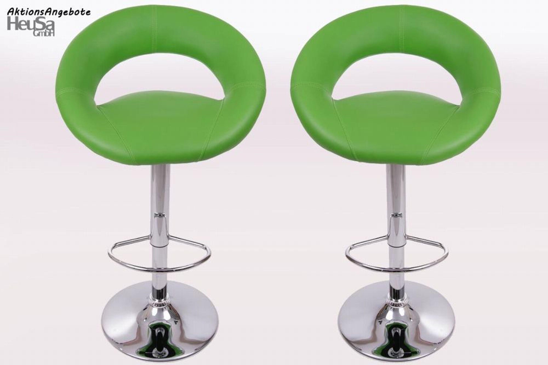 2x design barhocker gr n tresenstuhl mit lehne barhocker for Tresenstuhl mit lehne