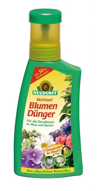 neudorff biotrissol blumend nger 250 ml f r zierpflanzen im haus garten kaufen bei. Black Bedroom Furniture Sets. Home Design Ideas