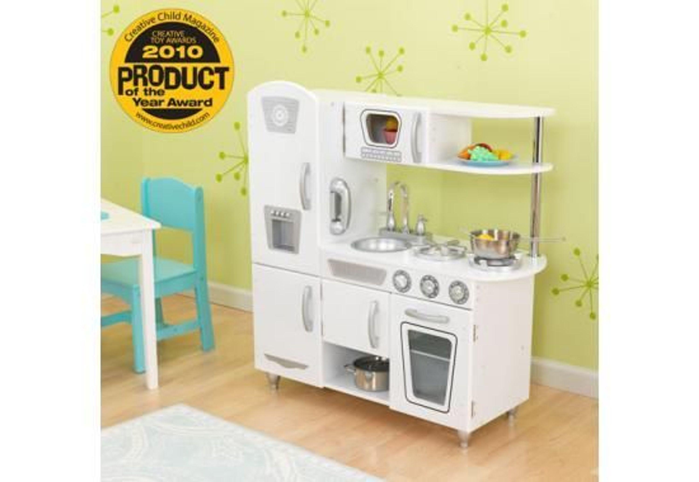 Küche retro küche kaufen : KidKraft Kinderküche Weiße Retro-Küche kaufen bei Hood.de