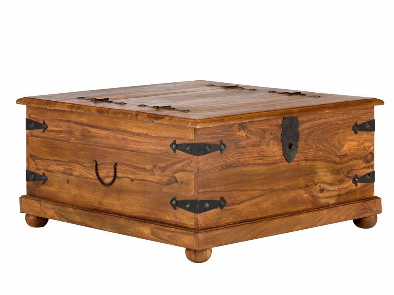 Couchtisch Truhe Beistelltisch Palisander Holz Möbel