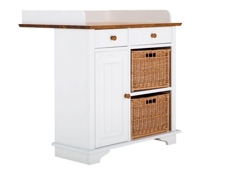 wickelkommode wickeltisch kommode holz wei braun kinder m bel neu julia kaufen bei. Black Bedroom Furniture Sets. Home Design Ideas