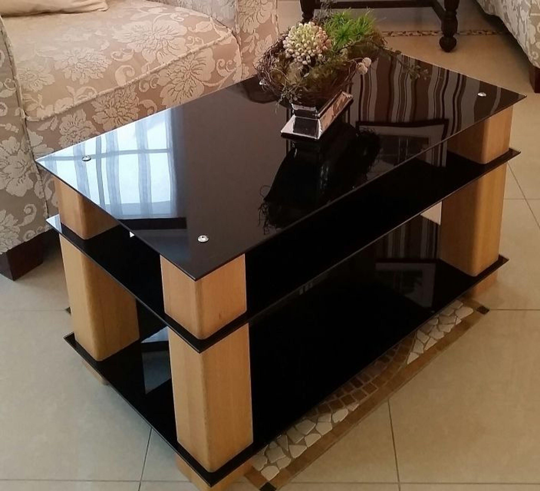 couchtisch stubentisch tisch saskia 63 kernbuche glas kaufen bei. Black Bedroom Furniture Sets. Home Design Ideas
