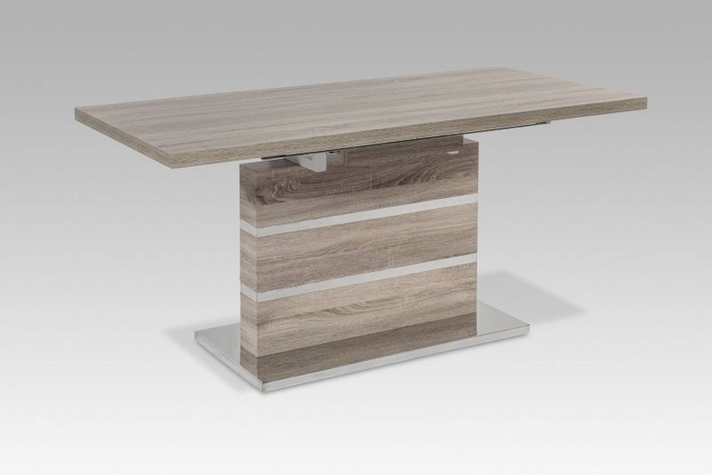 160x80 cm esstisch tisch r4285 38 eiche sonoma dekor ausziehbar kaufen bei. Black Bedroom Furniture Sets. Home Design Ideas