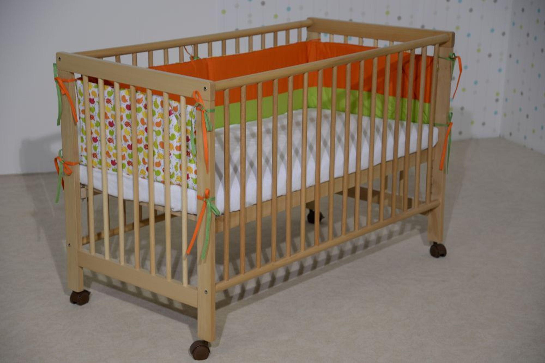 taube beistellbett babybett alma 60 x 120 buche massiv lackiert oder wei kaufen bei. Black Bedroom Furniture Sets. Home Design Ideas