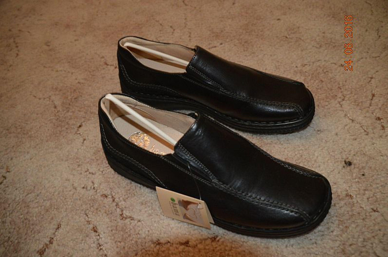 brand new 85cec afdf9 neue schwarze Halbschuhe Gr. 40 aus Leder von bama - Schuhe wie barfuß