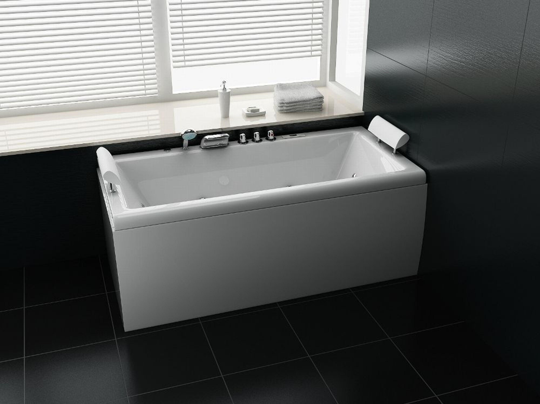 whirlpool eckbadewanne badewanne wanne pool whirlwanne acryl f r 2 personen schwarz kaufen bei. Black Bedroom Furniture Sets. Home Design Ideas