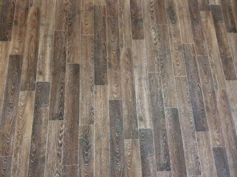 PVC Bodenbelag Holz-Optik Planken mit Silberglanz 400 cm Breite pro qm =  9,95 €