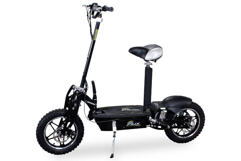 elektro roller e scooter e flux vision 1000 watt schwarz. Black Bedroom Furniture Sets. Home Design Ideas