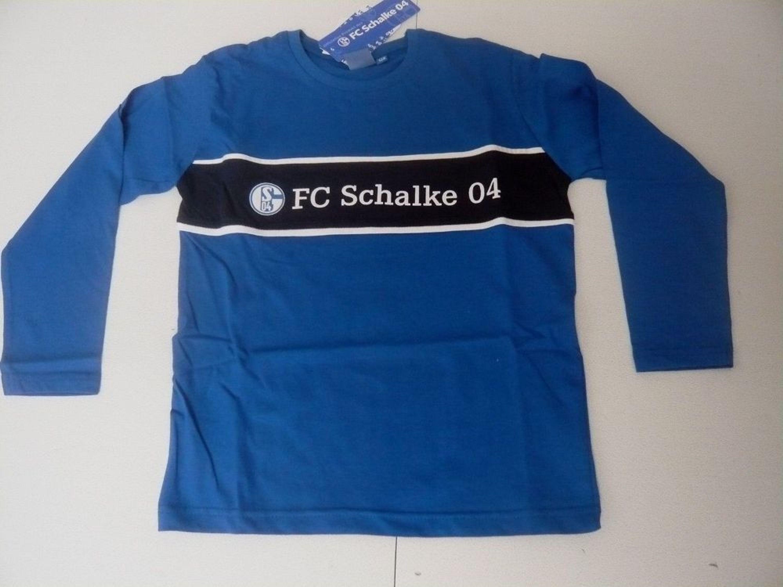 Fußball-Artikel Fußball-Trikots von deutschen Vereinen Fc schalke 04 Schlafanzug  Shirt Hose Gr 128